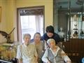 与奶奶和朱奶奶的合影