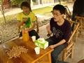张博和同学的烧烤